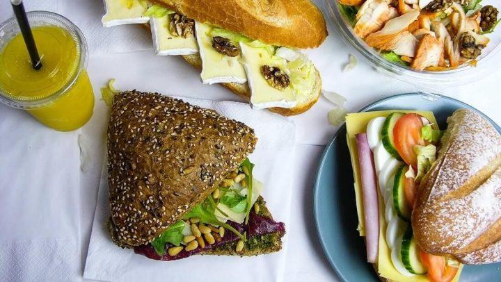 lekkere gezonde lunch bestellen